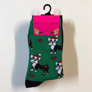French Bulldog Boston Terrier Pug Christmas Socks